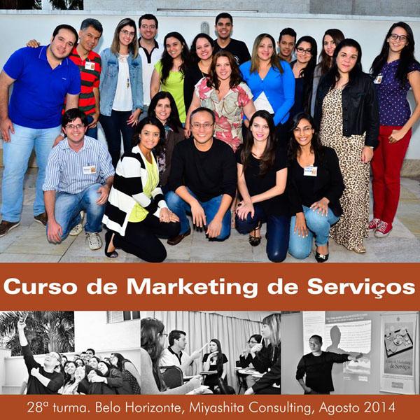 28ª turma do Curso de Marketing de Serviços e Gestão de Atendimento