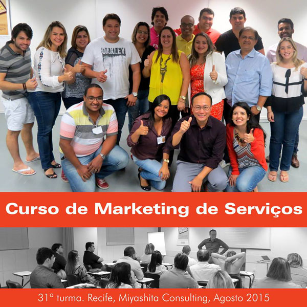 31ª turma do Curso de Marketing de Serviços e Gestão de Atendimento