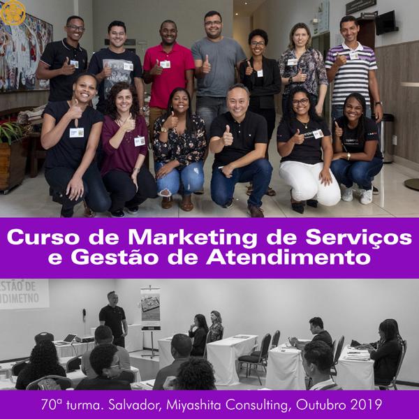 Curso de Marketing de Serviços e Gestão de Atendimento