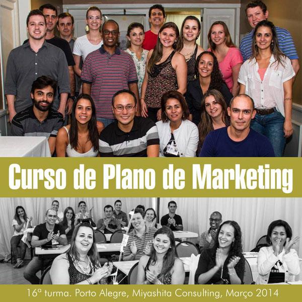 16ª turma do Curso de Plano de Marketing e Estratégia de Negócios
