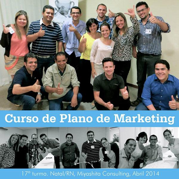 17ª turma do Curso de Plano de Marketing e Estratégia de Negócios