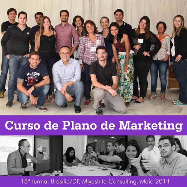 18ª turma do Curso de Plano de Marketing e Estratégia de Negócios