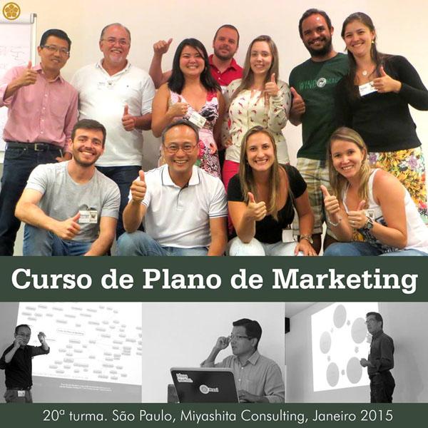 20ª turma do Curso de Plano de Marketing e Estratégia de Negócios
