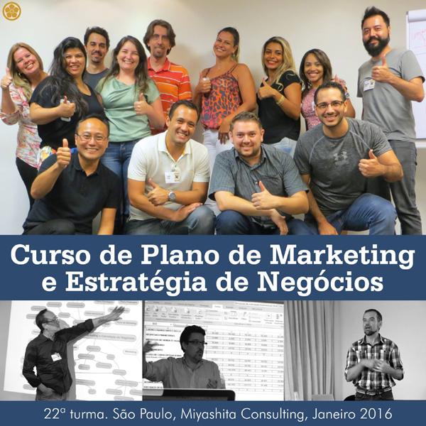 22ª turma do Curso de Plano de Marketing e Estratégia de Negócios