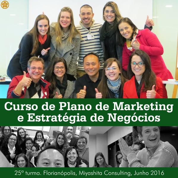 Curso de Plano de Marketing e Estratégia de Negócios - 25ª turma