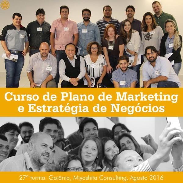 Curso de Plano de Marketing e Estratégia de Negócios - 27ª turma