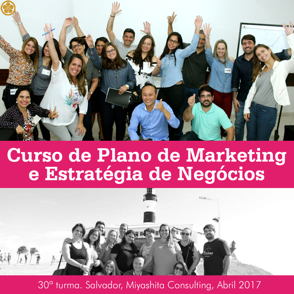 Curso de Plano de Marketing e Estratégia de Negócios - 30ª turma