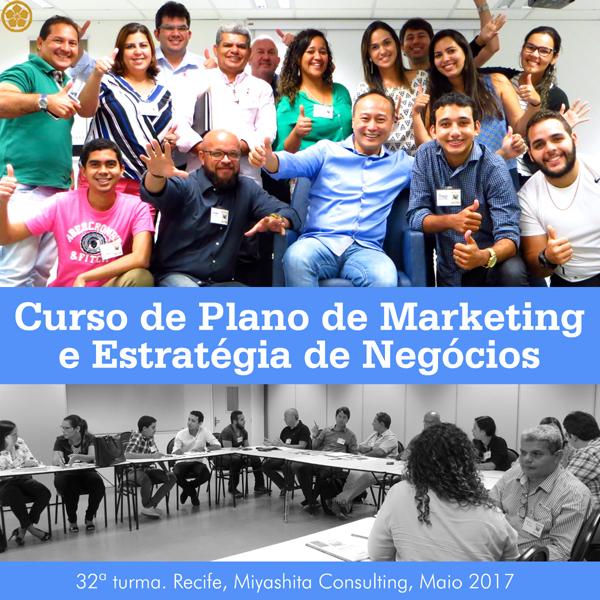 Curso de Plano de Marketing e Estratégia de Negócios - 32ª turma