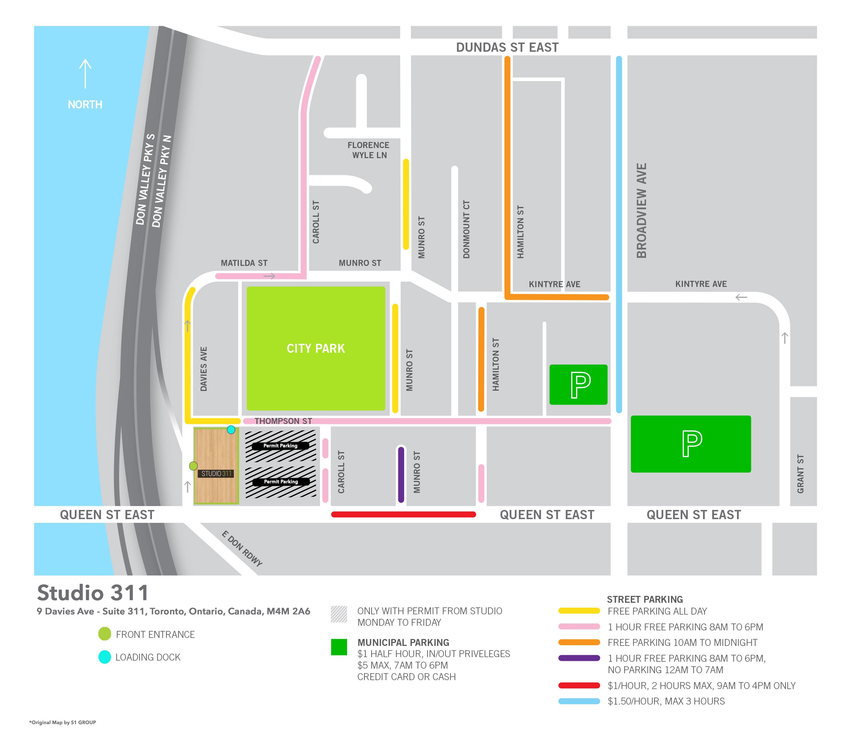 Studio 311 - MAP