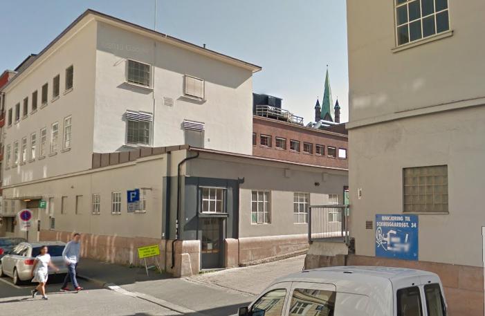 Schweigaards gate 34F, sett fra Platous gate.