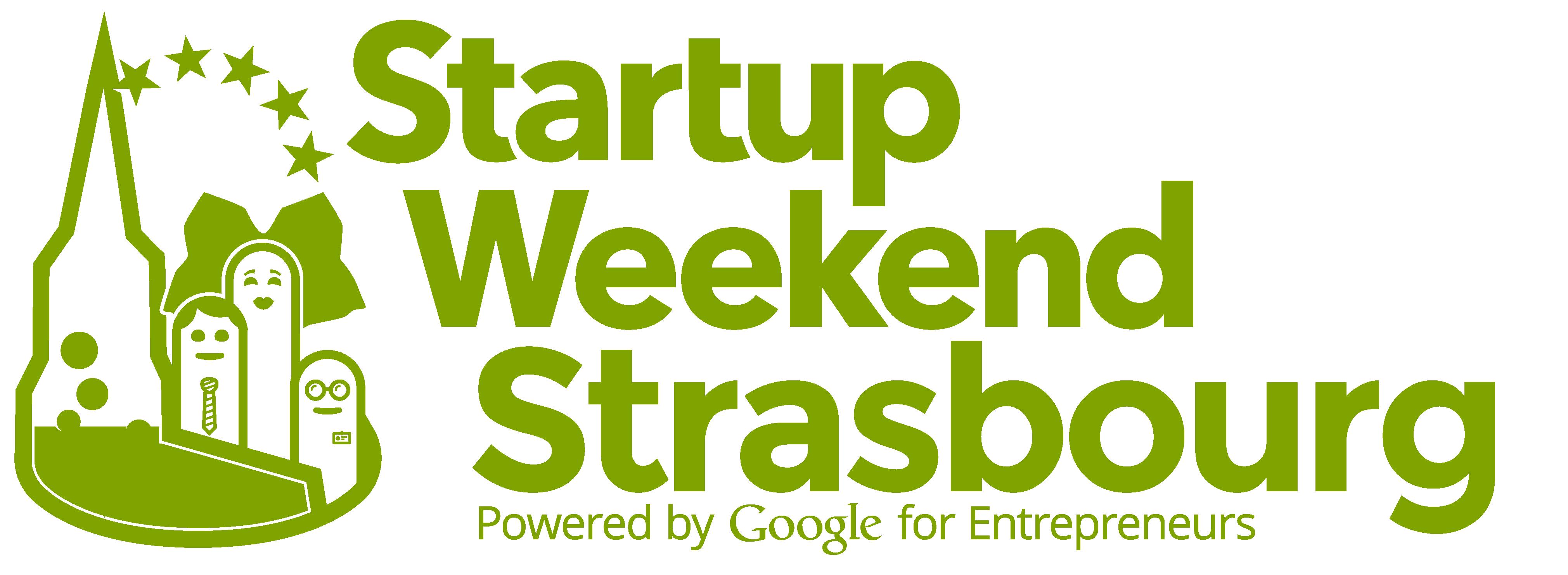 Logo Startup Weekend Strasbourg