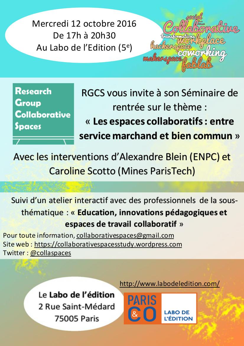 séminaire RGCS