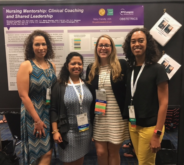 NY members presenting poster at Convention