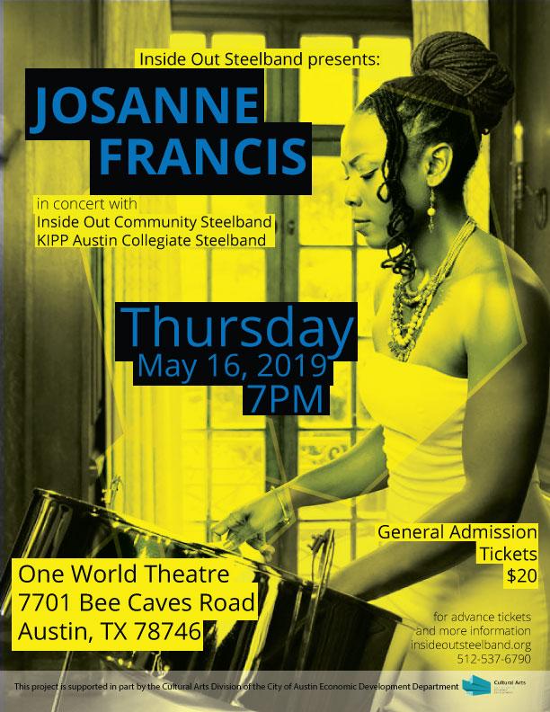 Josanne Francis poster