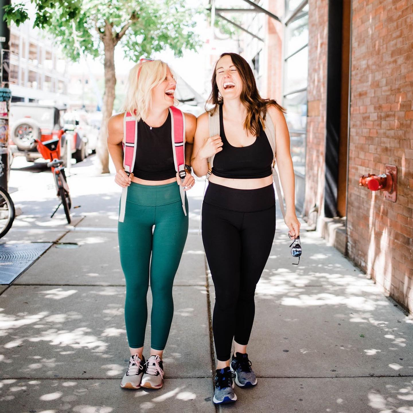 Cortney and Alex Founders of bRUNch Running