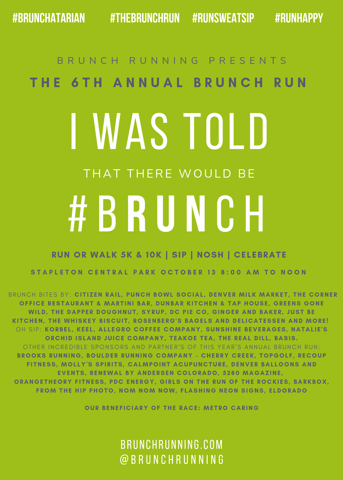 The brunch run denver