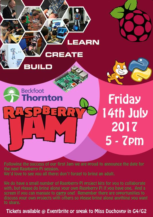 Raspberry Jam Promo