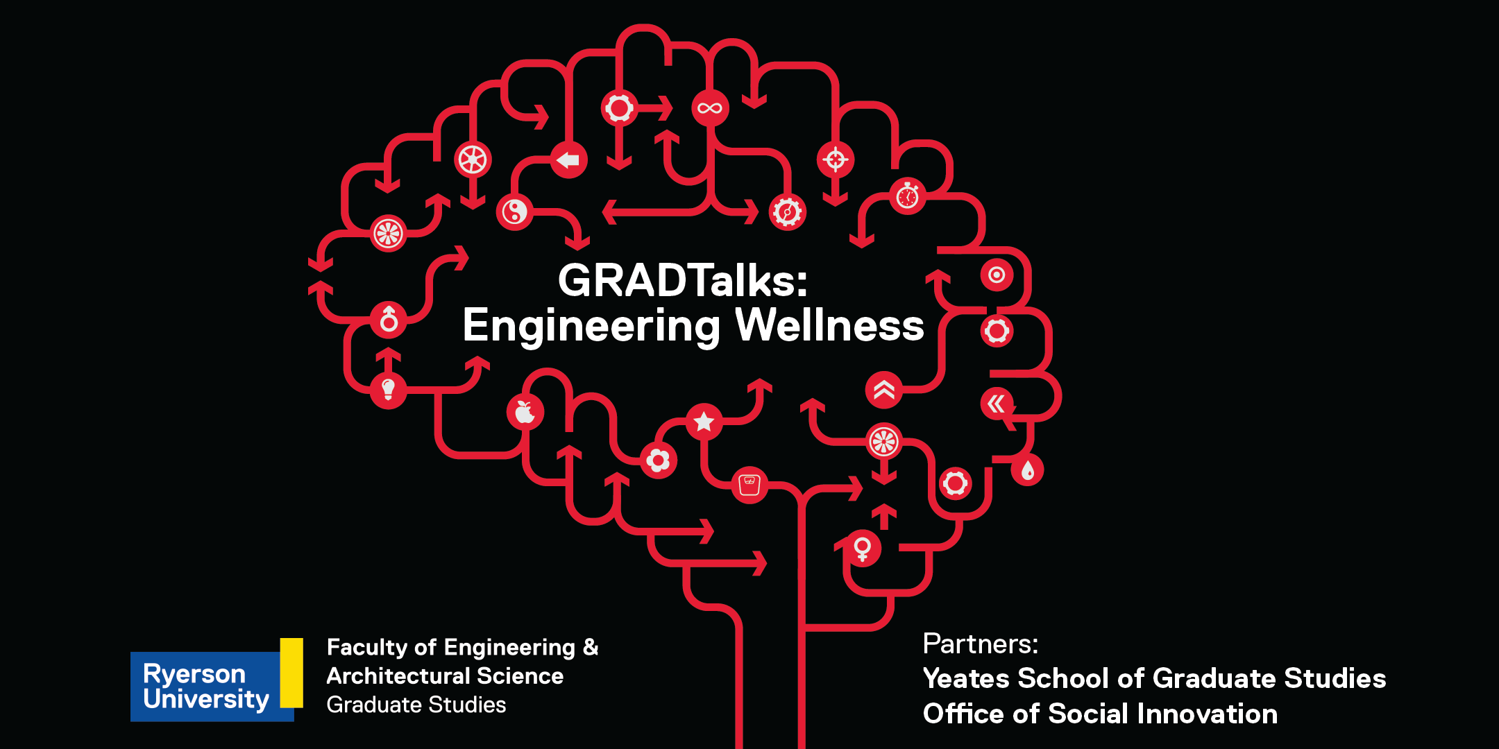 GRADTAlks: Engineering Wellness Graphic
