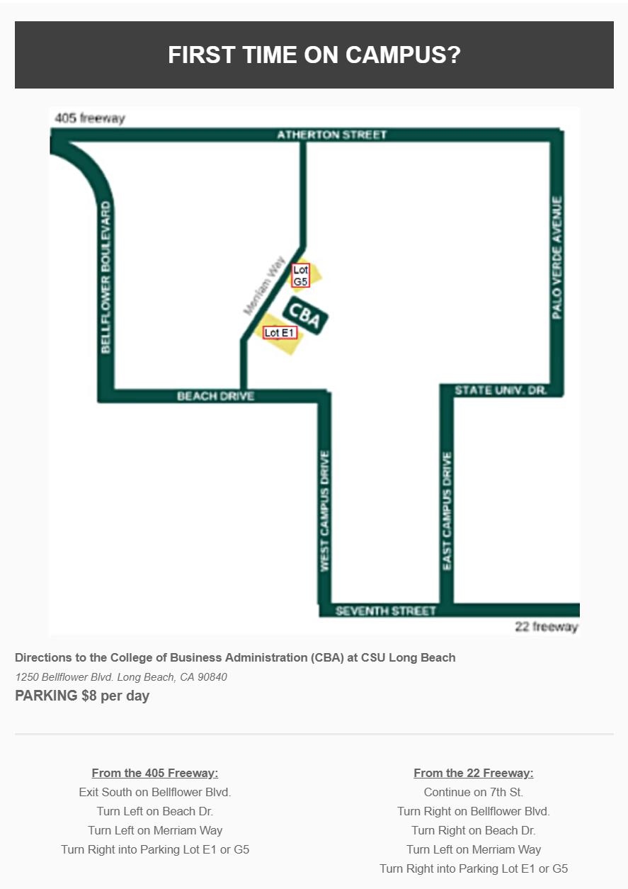 CSULB Map