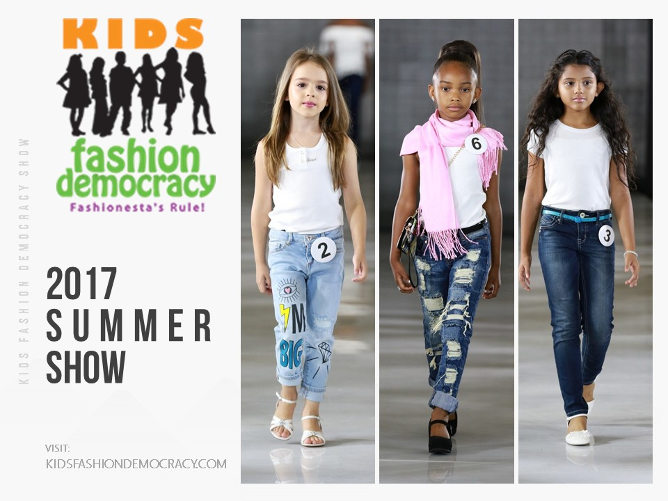 IMG KIDS 4 TO 8 YEARS OLD FASHION SHOW CASTING