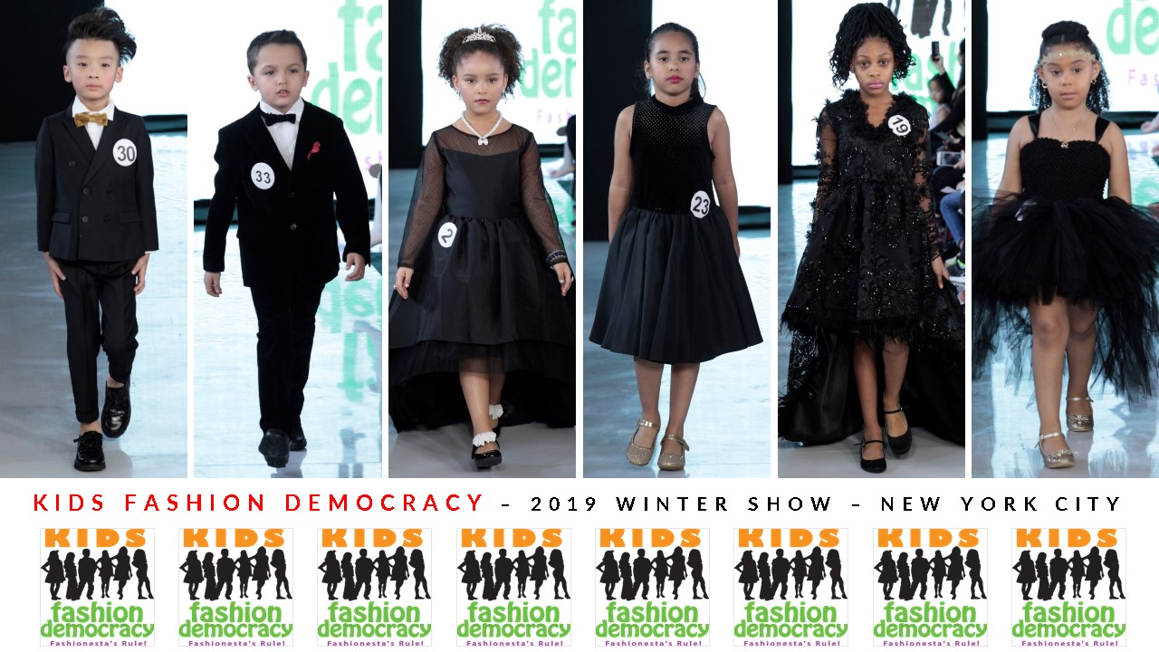 SCOUT Child Models 4-15 to Discover and Recruit Aspiring, Potential Child Models at the KIDS FASHION DEMOCRACY Show in NYC