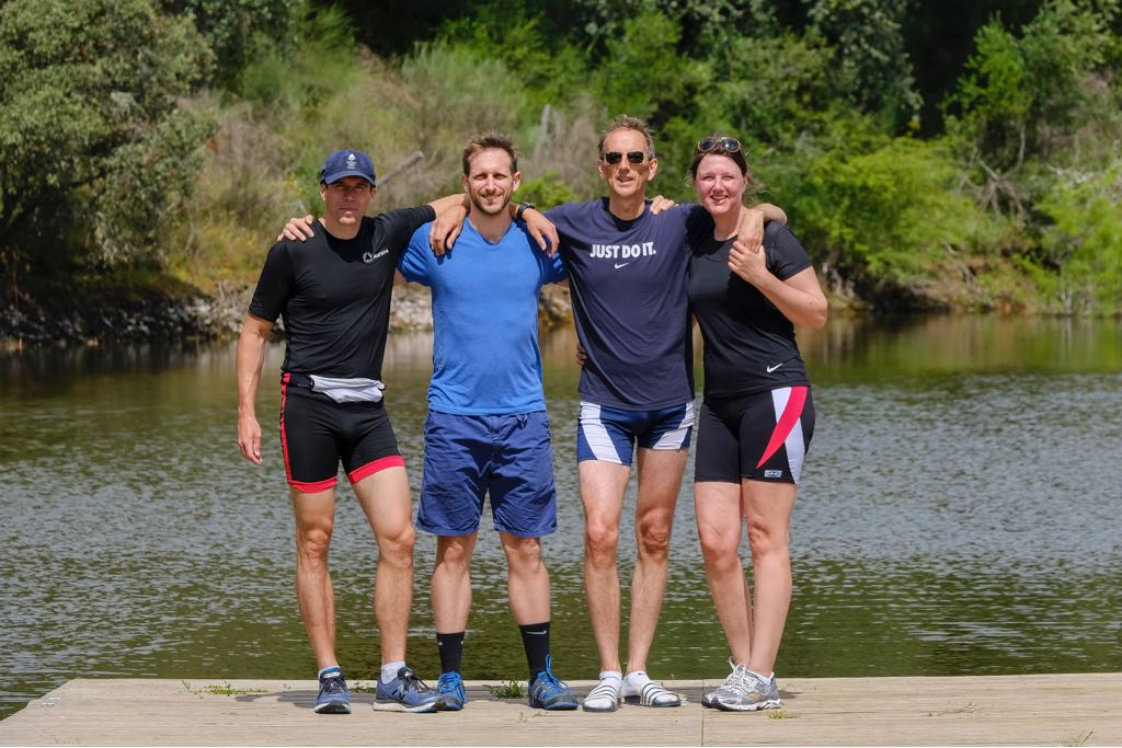 Mads, Joe, Mark, and Jooske