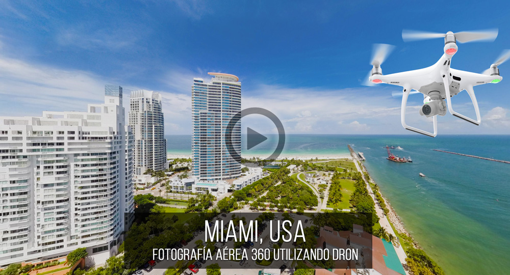Fotografía Esférica VR 360 de Miami, USA por Mario Carvajal