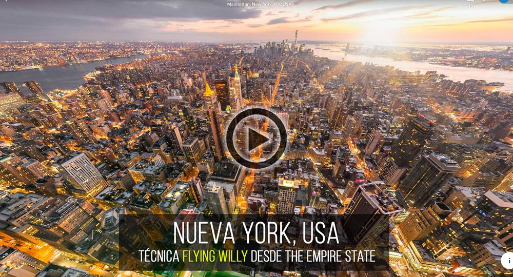 Fotografía Esférica VR 360 de Nueva York, USA por Mario Carvajal