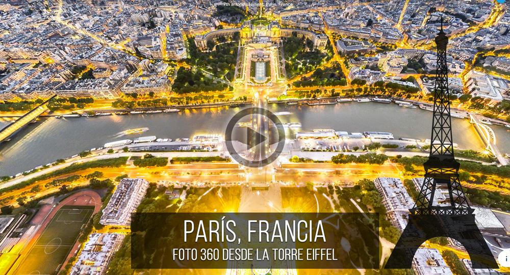 Fotografía Esférica VR 360 de París, Francia por Mario Carvajal