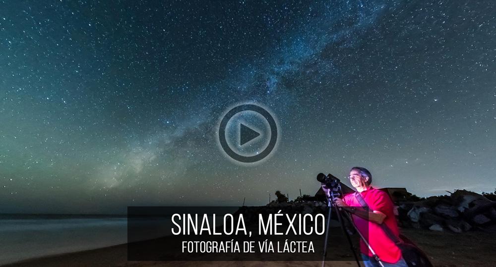Fotografía Esférica VR 360 de Sinaloa, México Vía Láctea por Mario Carvajal