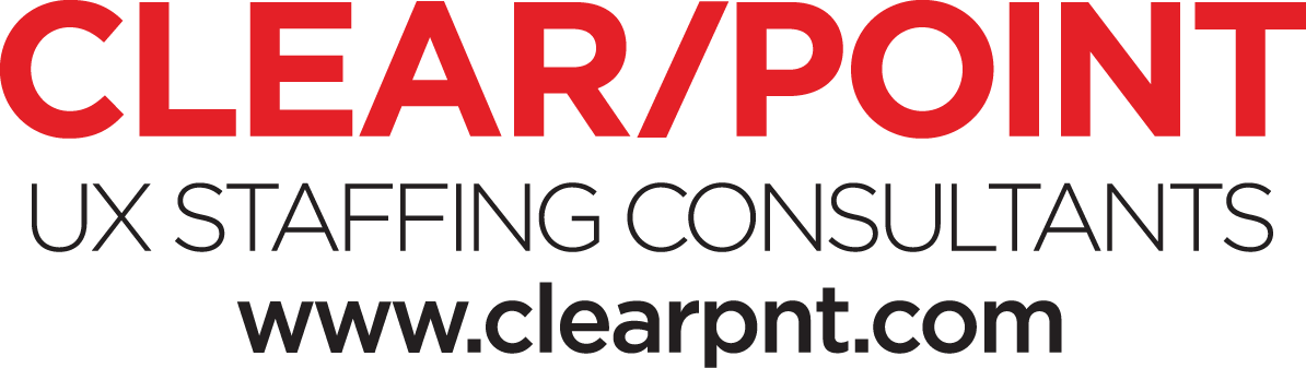 Logo for ClearPoint UX Staffing Consultants