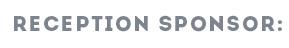 Reception Sponsor