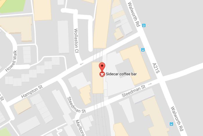 map sidecar cafe hotel elephant