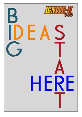 Big ideas events