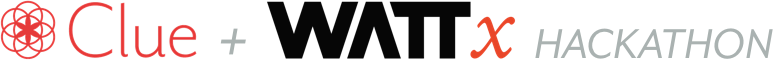 logo WATTx Clue