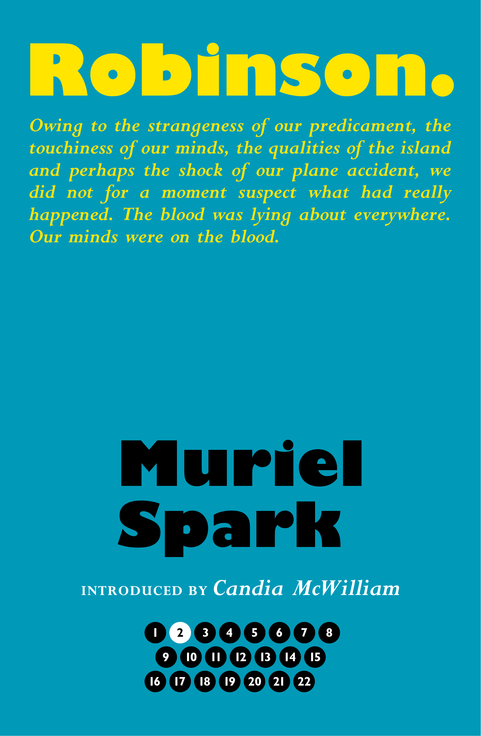 Muriel Spark Bookcover for Robinson