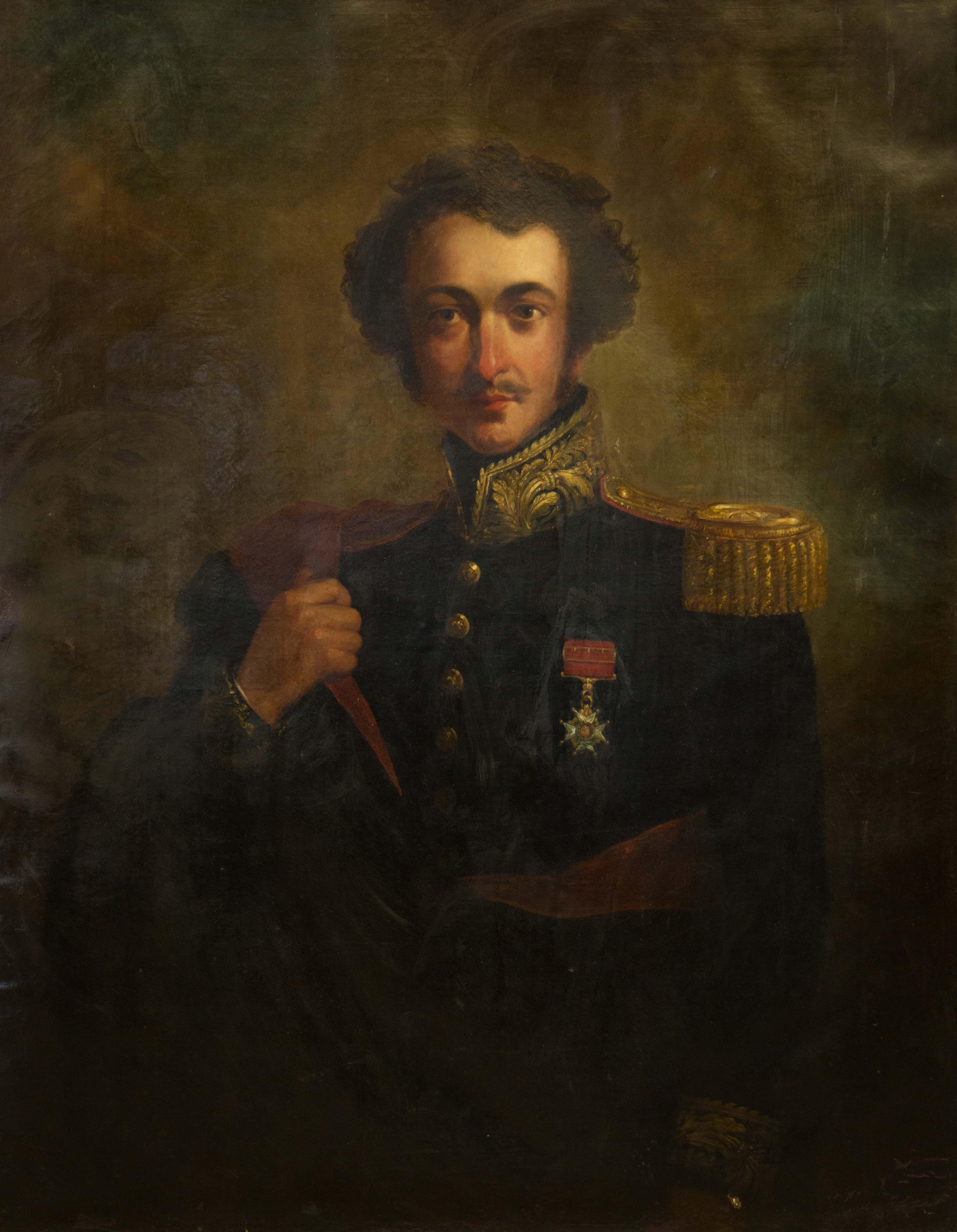 portrait of Alexander Burnes