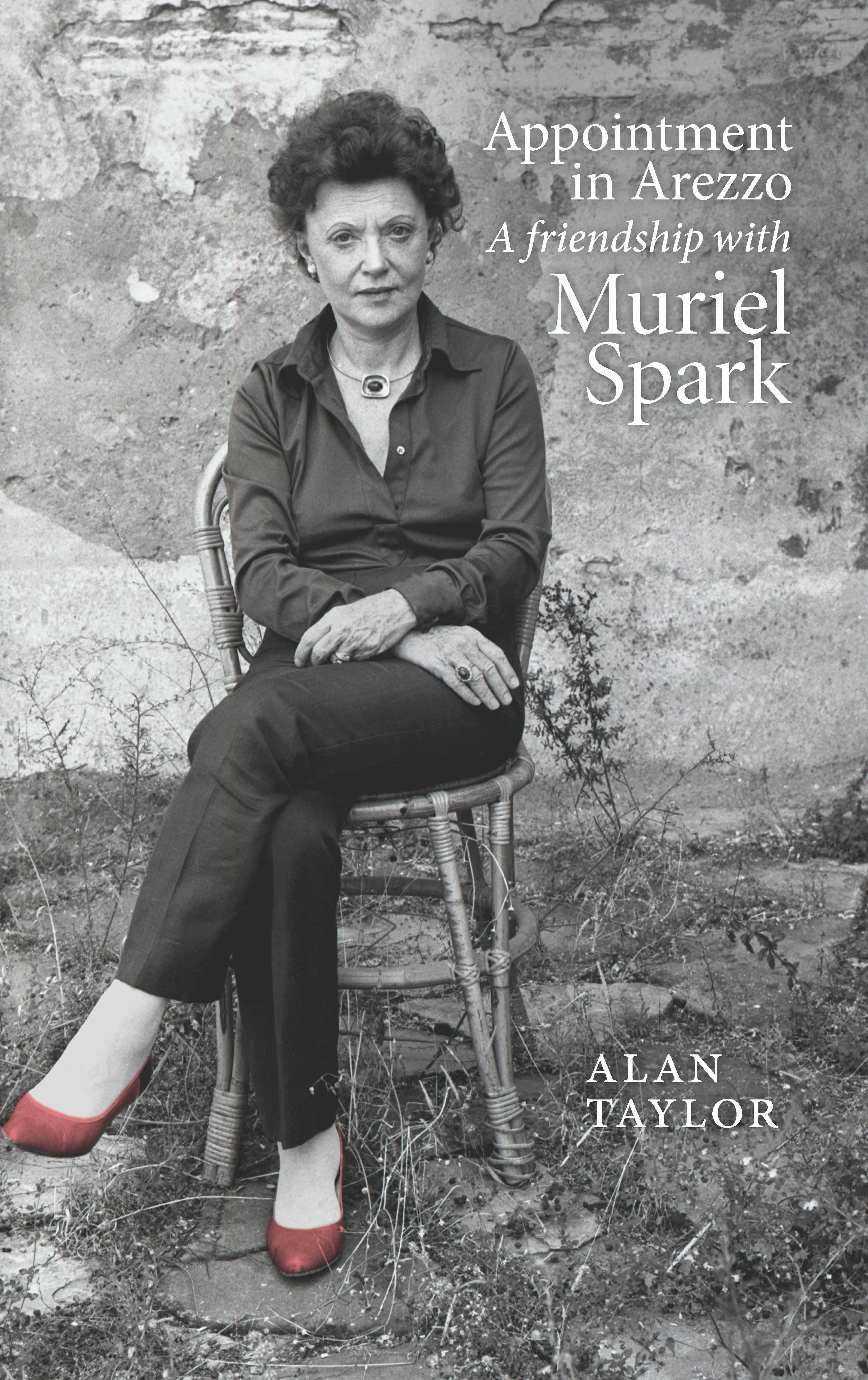Image of Muriel Spark seated