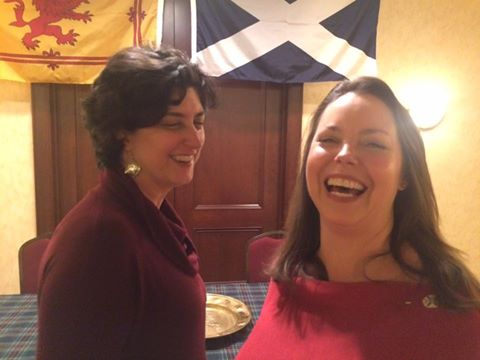 fun at the Burns Supper