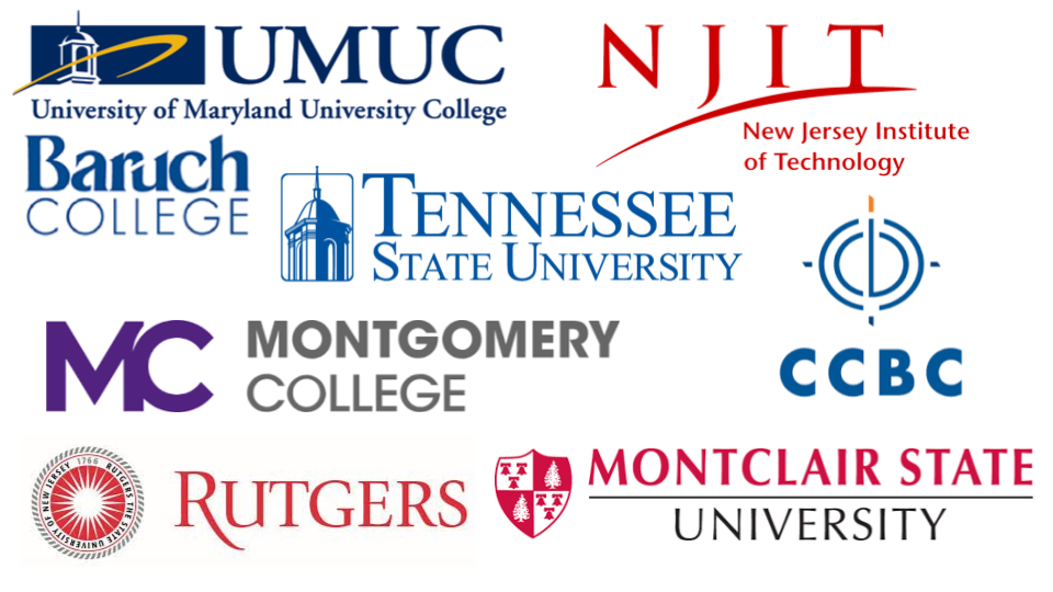 List Of Colleges Attending