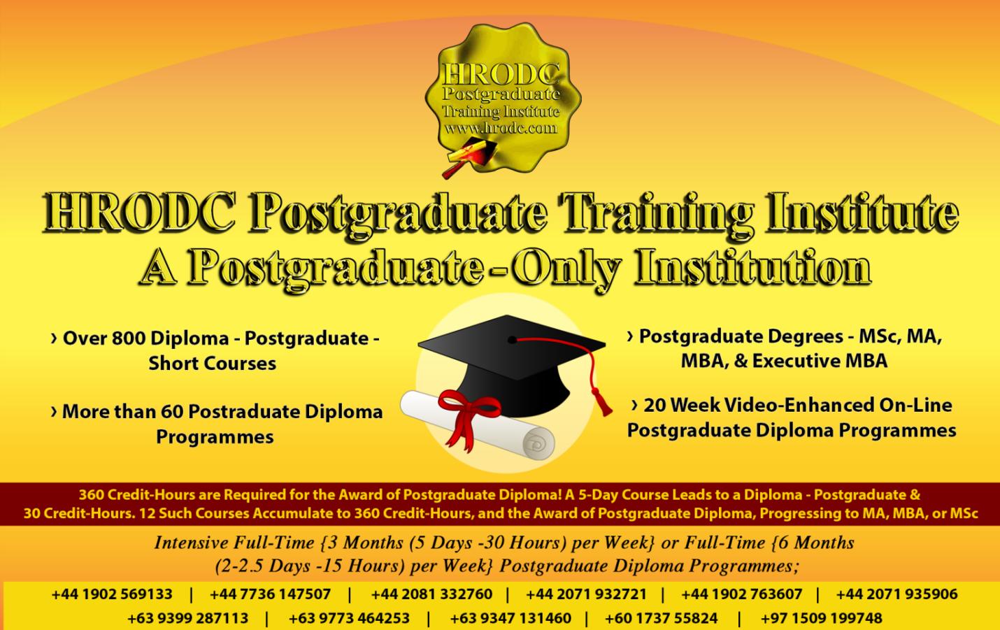 Human Resource and Organisational Development Consultancy (HRODC) LTD