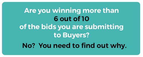 Are you winning more than 6/10 of the bids you are submitting to buyers?