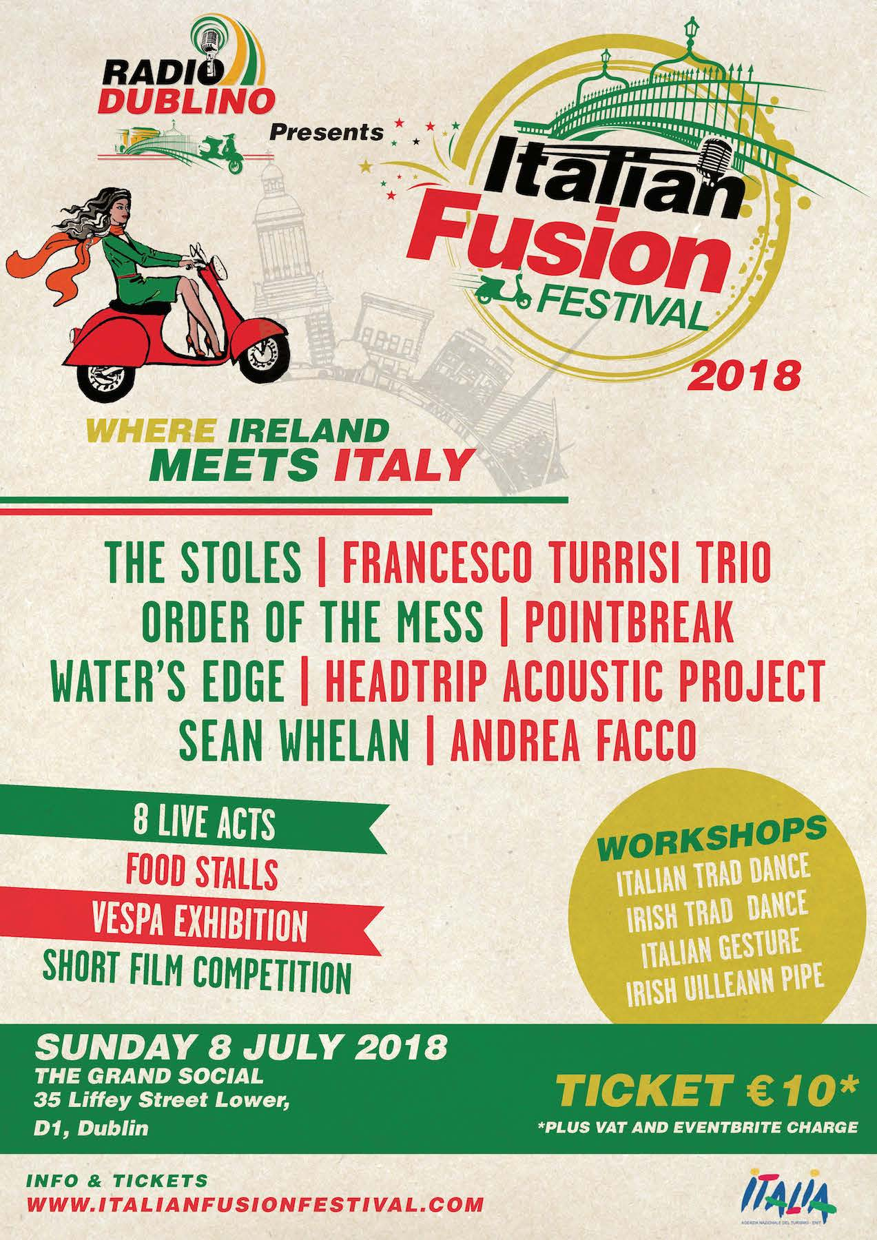 Italian Fusion Festival 2018