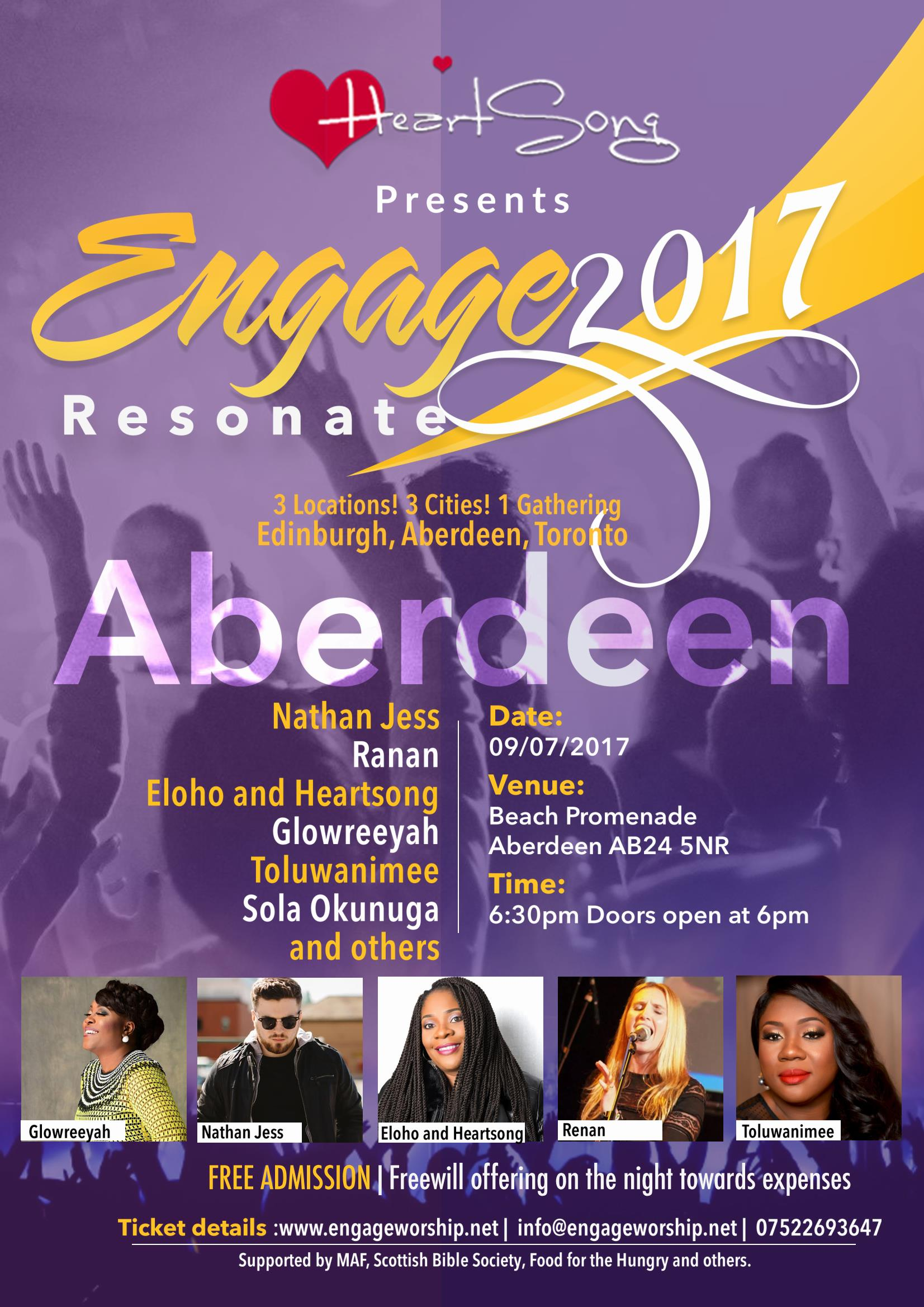Aberdeen worship night