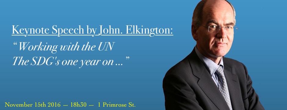 John Elkington keynote speech