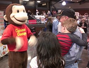All Things Kids Expo Curious George