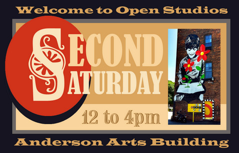 Anderson Arts Building Second Saturday Open Studios