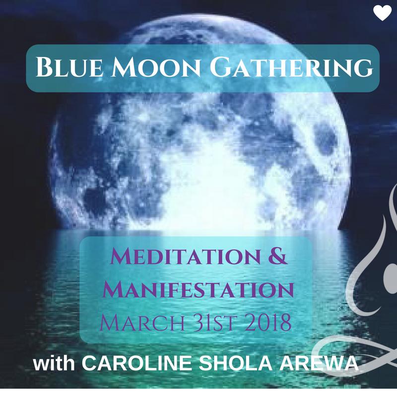 Blue Moon Gathering 2018 Caroline Shola Arewa