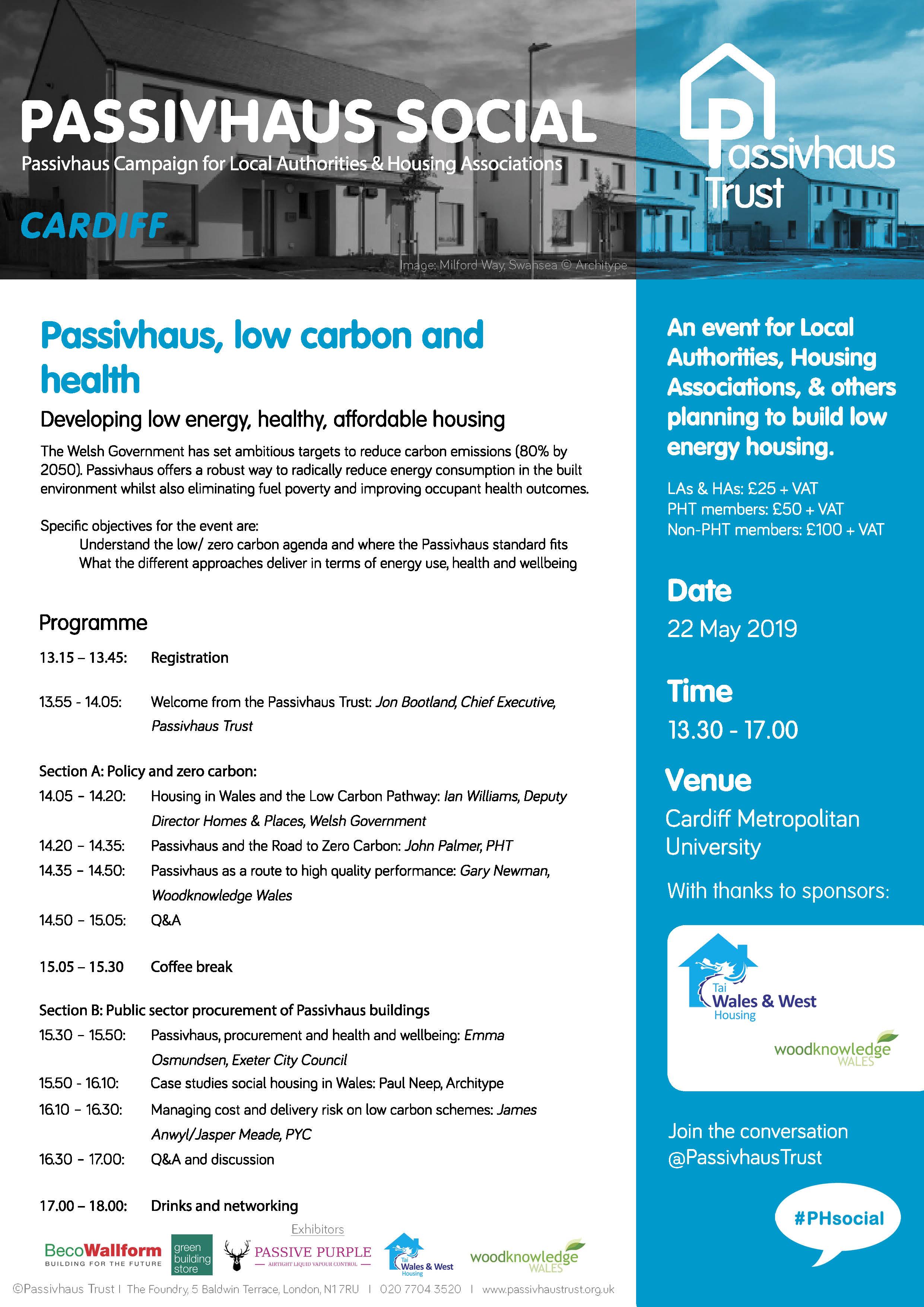 Passivhaus Social: Cardiff Programme