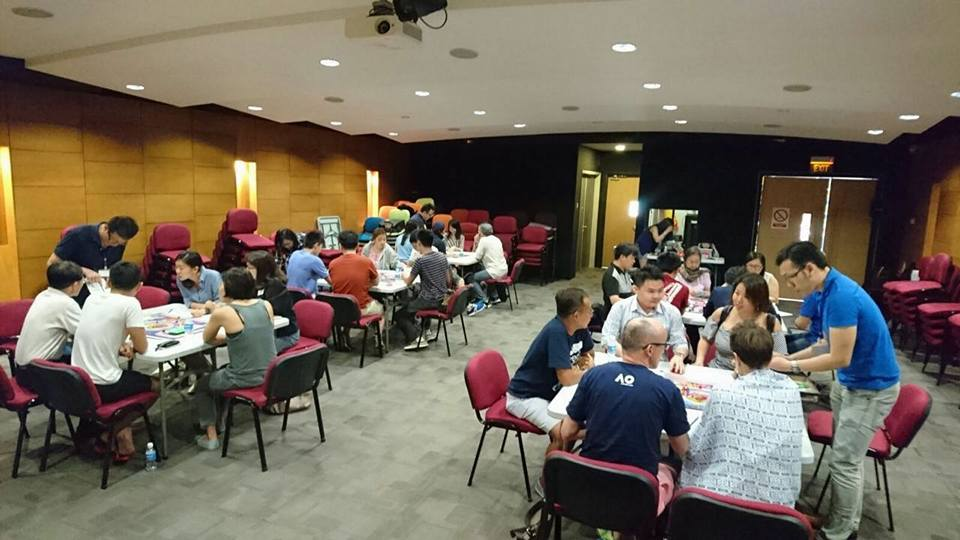 Cashflow Game Singapore Feb 2017